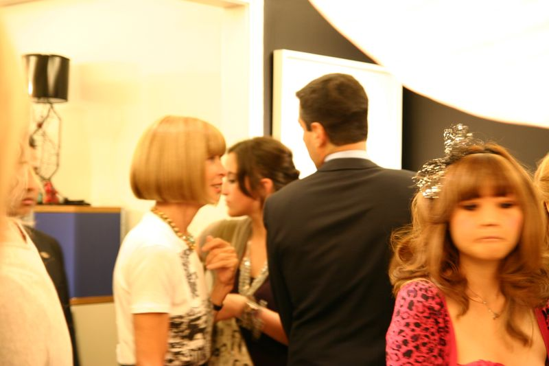 Anna wintour fashions night out bergdorf