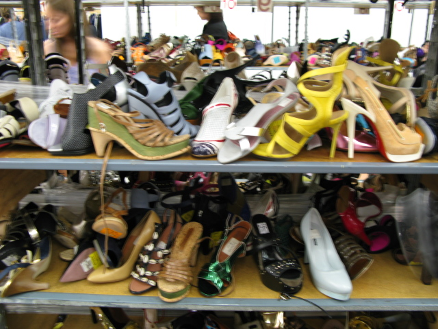 Barneys warehouse platform shoes