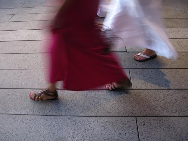 High line roman sandals