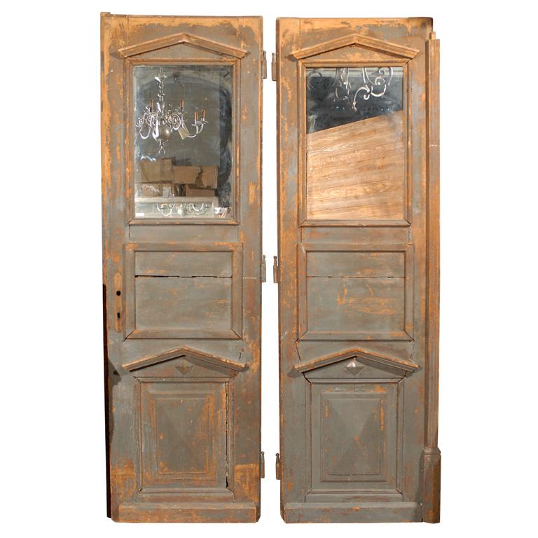 Directoire doors